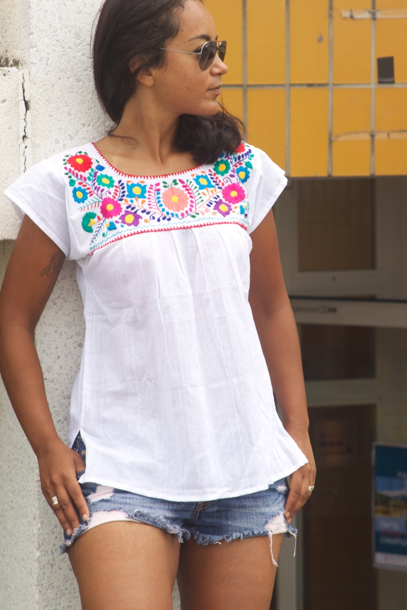 Blouse mexicaine